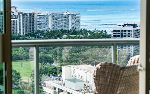 Allure Waikiki Vacation Rental Oceanview