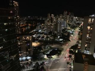 アルーアワイキキ バケーションレンタル 夜景